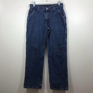 Carhartt pair jeans women's size 6 X 30